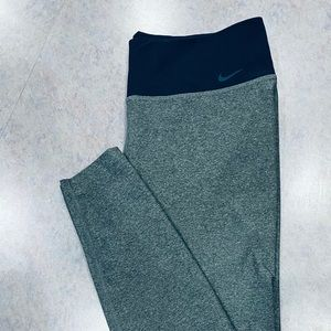 Nike Work Out Legging Pants Dri Fit Size Large